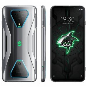 Telefon mobil Xiaomi Black Shark 3 Gaming Phone 5G, AMOLED 6.67inch, 8GB RAM, 128GB ROM, Snapdragon865, 2x 2360mAh, Dual SIM, Global, Gri3