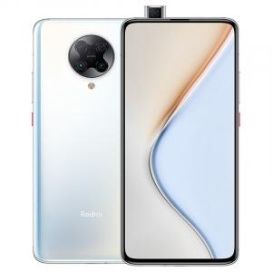 Telefon mobil Xiaomi Redmi K30 Pro, 5G, AMOLED 6.67inch, 8GB RAM, 128GB ROM, Android 10, Snapdragon865 OctaCore, Dual SIM, 4700mAh, Alb0