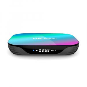 TV Box HK1 BOX Smart Media Player Resigilat, 8K, RAM 4GB, ROM 64GB, Amlogic S905X3, Android 9.0, Slot Card, Quad Core3