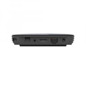 TV Box HK1 BOX Smart Media Player Resigilat, 8K, RAM 4GB, ROM 64GB, Amlogic S905X3, Android 9.0, Slot Card, Quad Core2