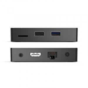 TV BOX HK1 Max 4K, Android 8.1, 4GB RAM 32GB ROM, Kodi 18, RK3228 Quad Core, Wifi, Lan, Slot Card3