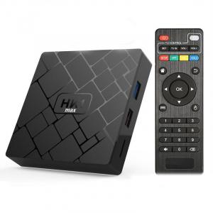 TV BOX HK1 Max 4K, Android 8.1, 4GB RAM 32GB ROM, Kodi 18, RK3228 Quad Core, Wifi, Lan, Slot Card1