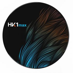 TV BOX HK1 Max 4K, Android 9.0, 4GB RAM, 32GB ROM, Kodi 18, RK3318 Quad Core, Wifi, Lan, Bluetooth, Slot Card3