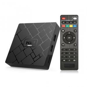TV BOX HK1 Mini 4K, Android 8.1, 2GB RAM 16GB ROM, Kodi 18, RK3229 Quad core, Wifi, Lan, Slot Card,4