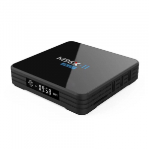 TV BOX M96X II Plus 4K, KODI 18, Amlogic S912, 2GB RAM 16GB ROM, Octa Core Cortex A53, Android 7.1, Wireless dual band2