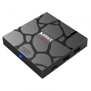 TV BOX M96X Mini 4K, KODI 18, Amlogic S905X Quad Core, 2GB RAM 16GB ROM, Android 6, WIFI dual band, DLNA, Miracast0