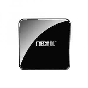 TV Box Mecool KM3 Smart Media Player, 4GB Ram, 128 GB ROM, Android 9.0, QuadCore, Control vocal5