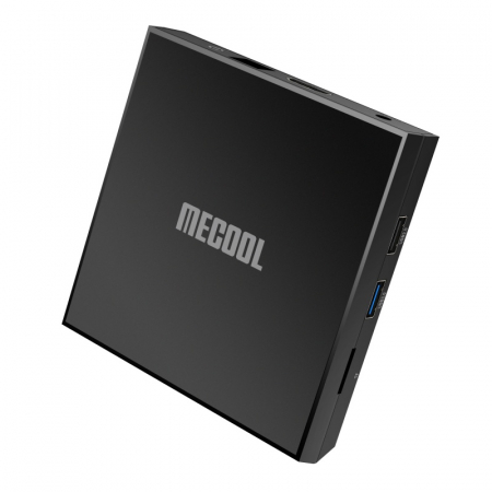 TV BoxMecool KM6 Classic Smart Media Player Negru, 4K, RAM 2GB, ROM 16GB,Android 10,Amlogic S905X4 Quad Core, 2T2R, Slot Card7