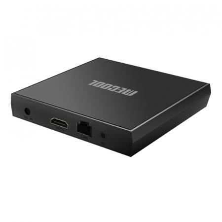 TV BoxMecool KM6 Classic Smart Media Player Negru, 4K, RAM 2GB, ROM 16GB,Android 10,Amlogic S905X4 Quad Core, 2T2R, Slot Card5