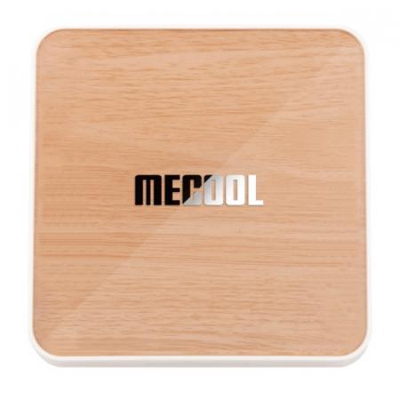 TV BoxMecool KM6 Deluxe Edition Smart Media Player Maro, 4K, RAM 4GB, ROM 64GB,Android 10,Amlogic S905X4 Quad Core, WiFi 6, Slot Card6