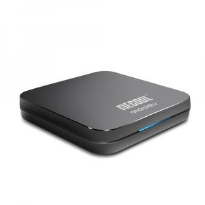 TV Box Mecool KM9 Pro Smart Media Player, 4GB Ram, 32 GB ROM, Android 9.0, QuadCore, Control vocal6