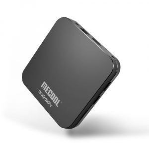 TV Box Mecool KM9 Pro Smart Media Player, 4GB Ram, 32 GB ROM, Android 9.0, QuadCore, Control vocal2