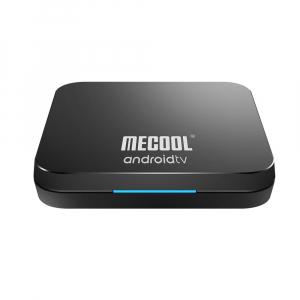 TV Box Mecool KM9 Pro Smart Media Player, 4GB Ram, 32 GB ROM, Android 9.0, QuadCore, Control vocal0
