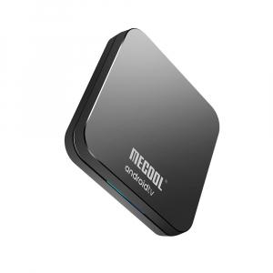 TV Box Mecool KM9 Pro Smart Media Player, 4GB Ram, 32 GB ROM, Android 9.0, QuadCore, Control vocal4