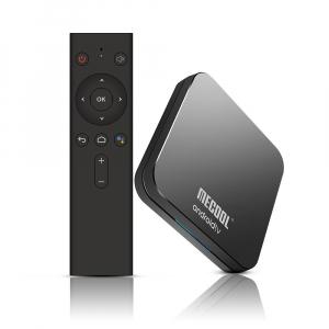 TV Box Mecool KM9 Pro Smart Media Player, 4GB Ram, 32 GB ROM, Android 9.0, QuadCore, Control vocal12