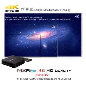 Tv Box MXR Pro 4K RK3328 Quad-Core, KODI, 4GB RAM, 32GB ROM, Android 7.14