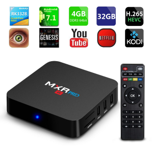 Tv Box MXR Pro 4K RK3328 Quad-Core, KODI, 4GB RAM, 32GB ROM, Android 7.17
