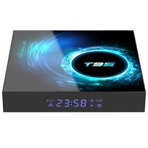 TV Box T95, 6K, Android 10.0, 4GB RAM, 128GB ROM, H616 Quad Core, Mali-G31, HDR 10, Kodi 18.1, Wi-Fi Dual Band, Slot card0