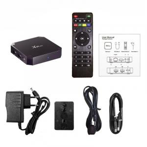 TV Box X96 Mini 4K, Quad-Core, 1GB RAM, 8GB ROM, Suport TV sau perete, KODI, WiFi, HDMI, Android 7.1.2, Prelungitor IR,5