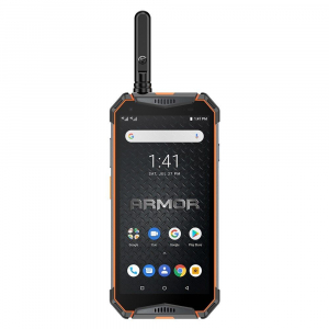 """Telefon mobil Ulefone Armor 3WT, IPS 5.7"""", Android 9, 6GB RAM, 64GB ROM, MediaTek Helio P70, Octa-Core, Walkie-Talkie, Dual-SIM, 10300mAh2"""