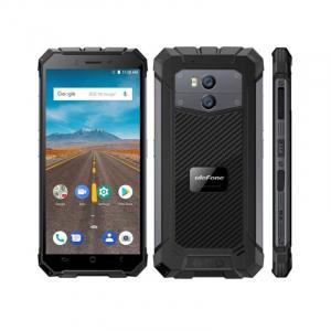 Telefon mobil Ulefone Armor X 4G, Waterproof IP68, 2GB RAM 16GB ROM, Quad Core, 5.5 inch, Amprenta, Android 8.1, Camera dubla, DualSim2