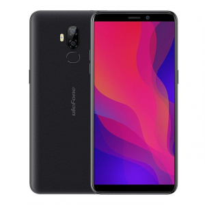 Telefon mobil Ulefone P6000 Plus, Android 9.0, 3GB RAM, 32GB ROM, 6.0 Inch 18:9 HD+, MT6739 OuadCore, 6350mAh, Face ID4