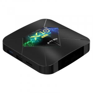TV Box X10 Mini, 4K,Android 10, 1GB RAM, 8GB ROM, Allwinner H313 QuadCore, HDR, DLNA, Miracast, Air Play, Wi-Fi, HDMI4