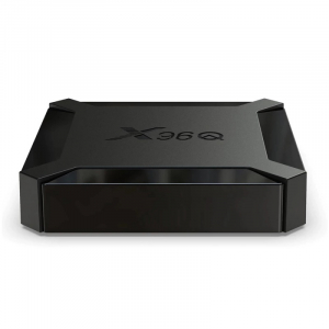 TV Box X96Q, 4K, Android 10, 2GB RAM, 16GB ROM, Allwinner H313 Quad-Core, DLNA, Miracast, Air Play, WiFi, HDMI, Extensie IR4