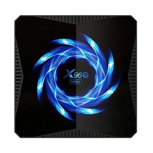 TV Box X96Q Max, 4K, Android 10, 4GB RAM, 64GB ROM, Allwinner H616 Quad-Core, Suport TV sau perete, WiFi, HDMI, Extensie IR1