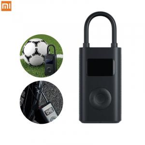 Pompa de aer electrica Xiaomi Mi Portable Air Pump, 2000 mAh, Monitorizare digitala a presiunii, Auto-oprire, 150psi, Micro-USB0