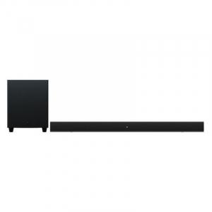 """Soundbar cu subwoofer de 6.5"""" Xiaomi Mi Soundbar 2.1 Cinema Version Negru, 100W, Bluetooth v5.0, AUX, Optic, Coaxial, Control tactil0"""