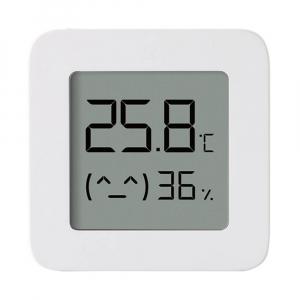 """Termohigrometru wireless Xiaomi Mi Temperature and Humidity Monitor 2, LCD 1.5"""", Bluetooth v4.2, CR2032, Alb0"""