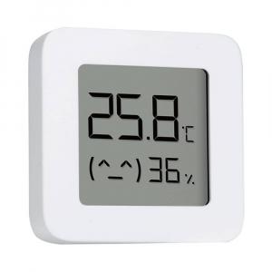 """Termohigrometru wireless Xiaomi Mi Temperature and Humidity Monitor 2, LCD 1.5"""", Bluetooth v4.2, CR2032, Alb1"""