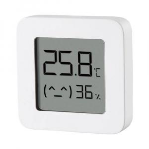 """Termohigrometru wireless Xiaomi Mi Temperature and Humidity Monitor 2, LCD 1.5"""", Bluetooth v4.2, CR2032, Alb2"""