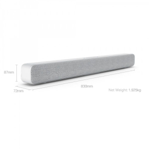 Xiaomi Soundbar, Bluetooth, 8 difuzoare, 6 ohmi, Montabil pe perete, Fashion design, Optic, SPDIF, Aux 3.5mm, RCA, Alb4