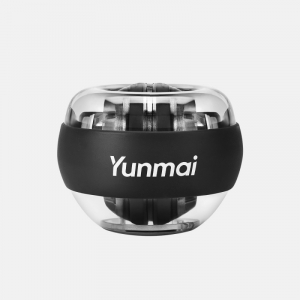 Giroscop de mana cu LED-uri Xiaomi Yunmai Wrist Trainer Negru pentru antrenarea bratelor, Anti-stres, Intarire tendoane si incheietura0