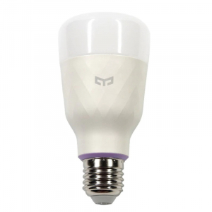 Bec smart Xiaomi Yeelight LED Bulb 1S V2 color, 8.5W, 800 lumeni, E27, WiFi 2.4G, Control vocal,Reglaj intensitate, Temporizator, Aplicatie1