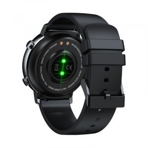 "Smartwatch Zeblaze GTR Negru, IPS 1.3"", Ritm cardiac, Presiune sanguina, Calorii, Menstruatie, Meteo, Control muzica, 180mAh3"