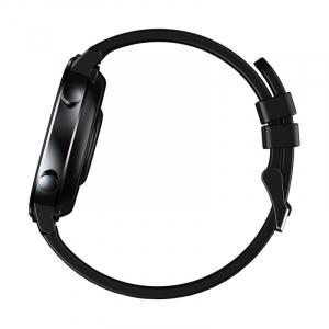 "Smartwatch Zeblaze GTR Negru, IPS 1.3"", Ritm cardiac, Presiune sanguina, Calorii, Menstruatie, Meteo, Control muzica, 180mAh5"