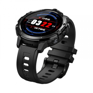 "Smartwatch Zeblaze Thor 6 Negru, 4G, IPS 1.6"", 4GB RAM, 64GB ROM, Android 10,Helio P22 OctaCore, Face ID, GPS, Dual camera, 830mAh2"