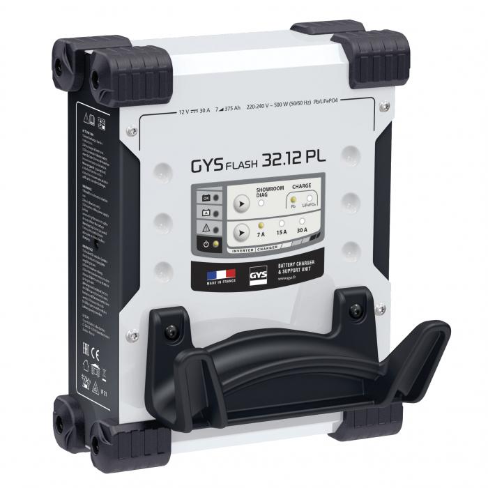 Incarcator si redresor automat 12V pentru Pb si LiFePO4 GYSFLASH PRO 32.12 PL 027381-big