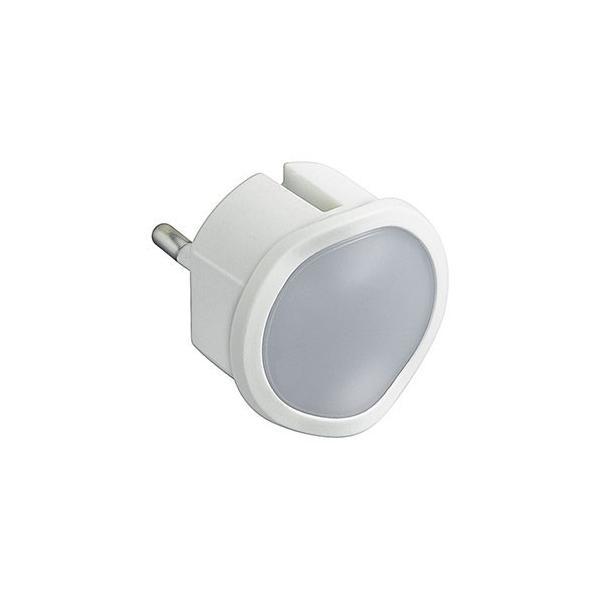 Lampa veghe cu senzor si dimmer alba Legrand 050676-big