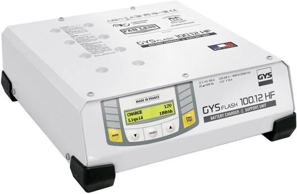 Incarcator si redresor automat 12V GYSFLASH PRO 100.12 HF FV 026071-big