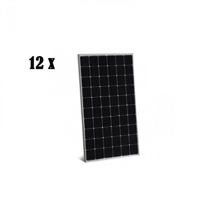 Pachet 12 panouri fotovoltaice JA Solar JAM60S09-320/PR 320W monocristaline-big