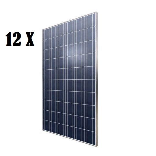 Pachet 12 panouri fotovoltaice Kingdom Solar KD-P280-60 280W policristaline-big