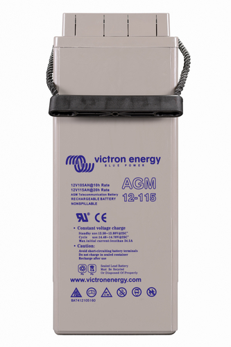 Victron Energy 12V/115Ah AGM Telecomm Batt. (M8)-big