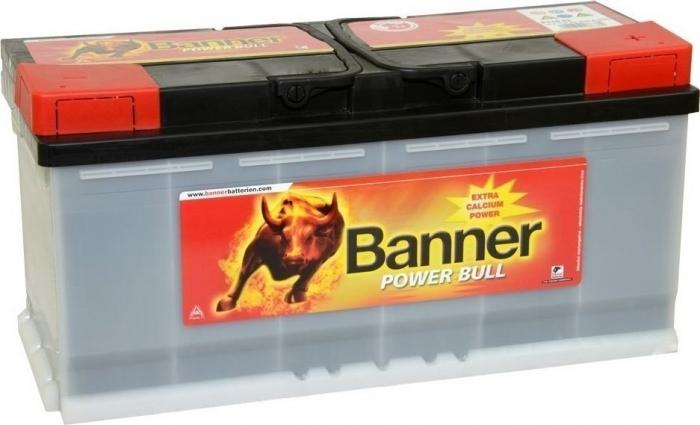 Acumulator Auto Banner Power Bull PRO 110 Ah P11040-big
