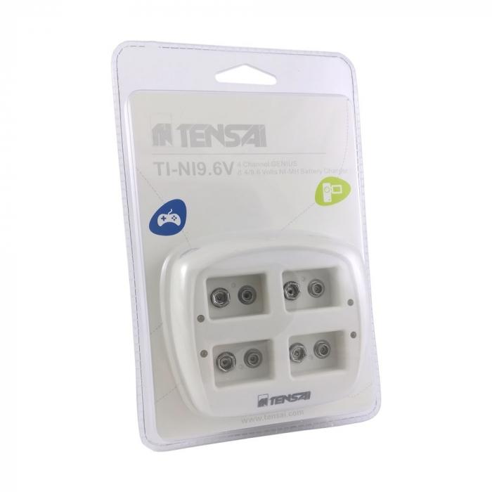 Incarcator Tensai 9V, 4 sloturi de incarcare-big