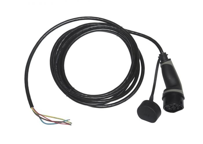 Cablu de încărcare tip 2 la capăt deschis, trifazat, 16A, 10m-big