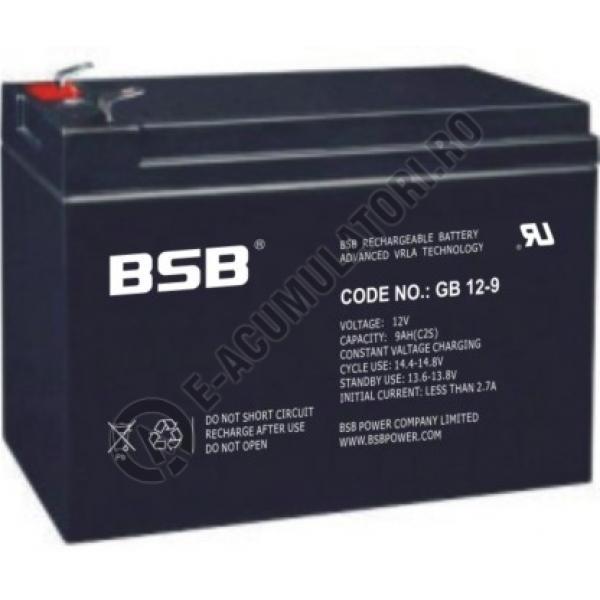 Acumulator VRLA BSB 12V 9 Ah-big